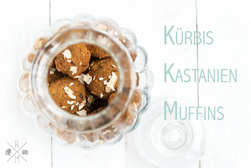 Kürbis-Kastinien-Muffins auch perfekt zum Frühstück inkl. Thermomix Rezeptvariante | relleomein.de #muffin #breakfastmuffin #frühstücksmuffin #kürbis #thermomix