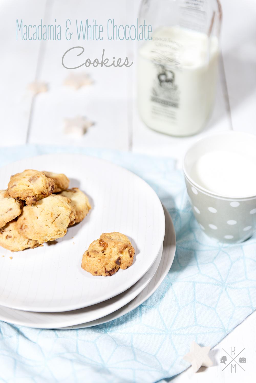 Christmas Macadamia Cookies aus dem Buch New York Christmas | relleomein.de