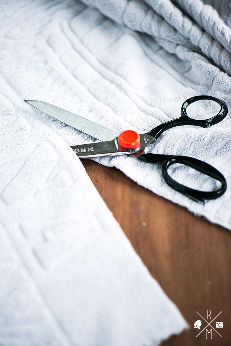 Selbst gemachte Swiffer Tücher aus alten Handtüchern | relleomein.de