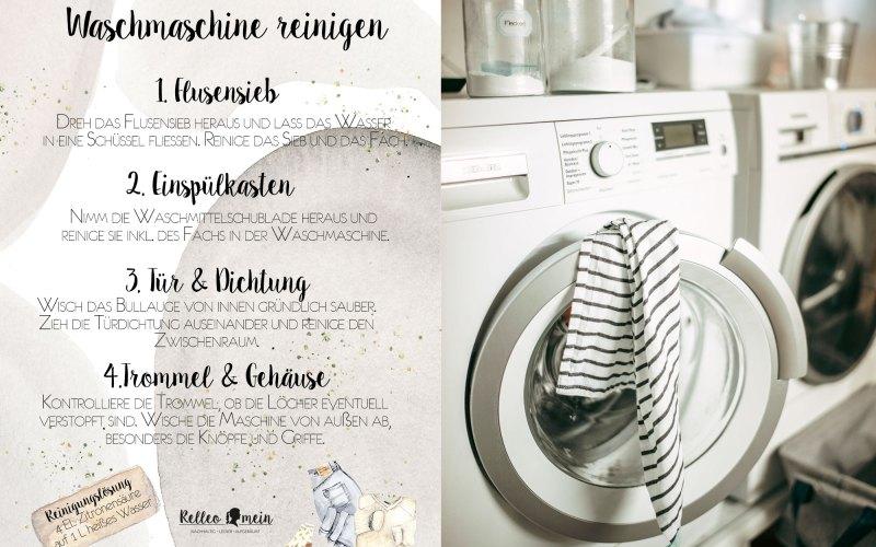 Die Waschmaschine und das verflixte Flusensieb