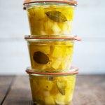 Einkochwoche - Zucchini einlegen in Öl - Zucchini Rezept für große Zucchini | relleomein.de #einkochen #canning