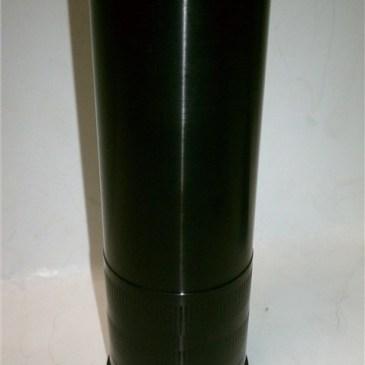 40MM .45 ACP Re-loadable Aluminum Casing. Smokeless.