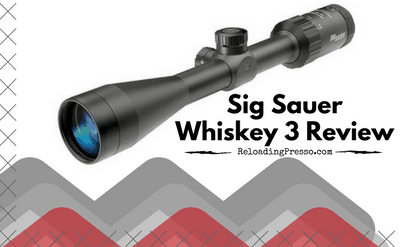 Value! Sig Sauer Whiskey 3 3-9×40 Riflescope Review [Zero In]