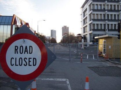 Christchurch after 3 months