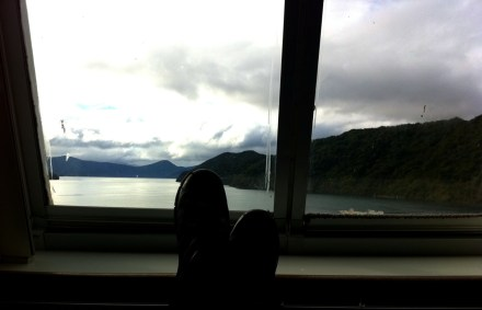 Blick in die Marlborough Sounds