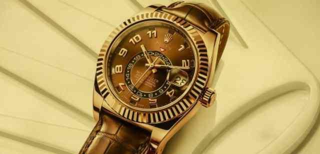 reloj mecánico automático rolex