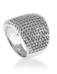 anillo silver steel