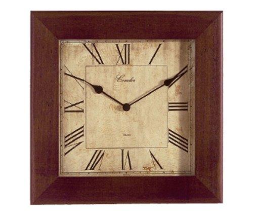 reloj pared madera