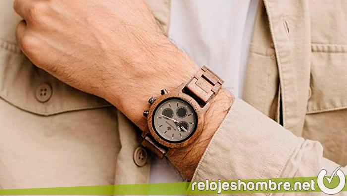 Relojes de madera para hombre