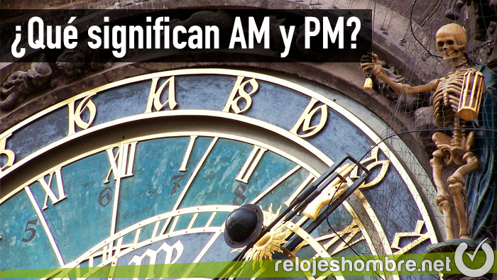 Significado am y pm