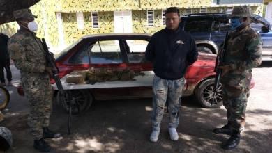 Photo of Ejército detiene en la frontera a dos ciudadanos con siete pacas de Marihuana en cilindros de GLP.