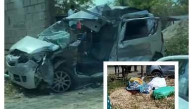 Photo of Accidente en el k/36 de la carretera mella deja tres muertos y un herido en una misma familia