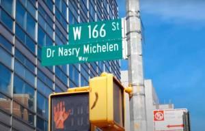 Photo of Nombran calle del Alto Manhattan en honor a destacado médico dominicano