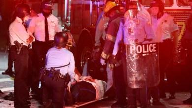 Photo of FILADELFIA: Violencia tras un mortal tiroteo policial; 30 oficiales heridos