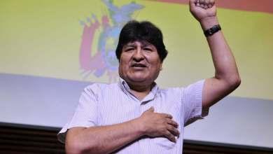 """Photo of Evo Morales: """"La derrota de Trump es la derrota de las políticas fascistas"""""""