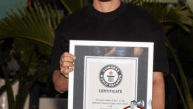"Photo of Prince Royce: ""Jamás imaginé que podría recibir un récord Guinness"""