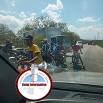 Photo of Cierran el transito en autopista Duarte para realizar carreras de velocidad en Montecristi