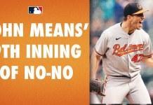 """Photo of John Means logra primer """"no-hitter"""" de los Orioles en los últimos 52 años"""