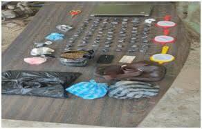 Photo of Apresan en Montecristi empleado privado con 74 porciones de presunta droga.