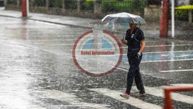 Photo of Meteorología prevé aguaceros y tronadas hacia el interior del país