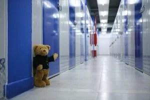 The storage hallway