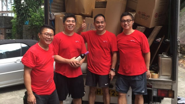 Relo smart asia team - moving service Hong Kong
