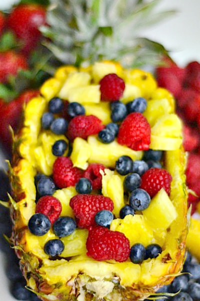 Image result for pineapple fruit salad