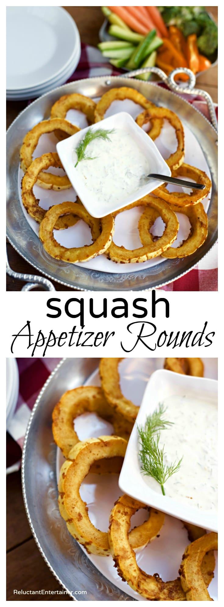 Skewer Appetizer Squash