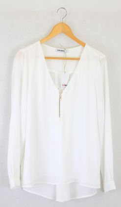 Just Jeans White Blouse 12
