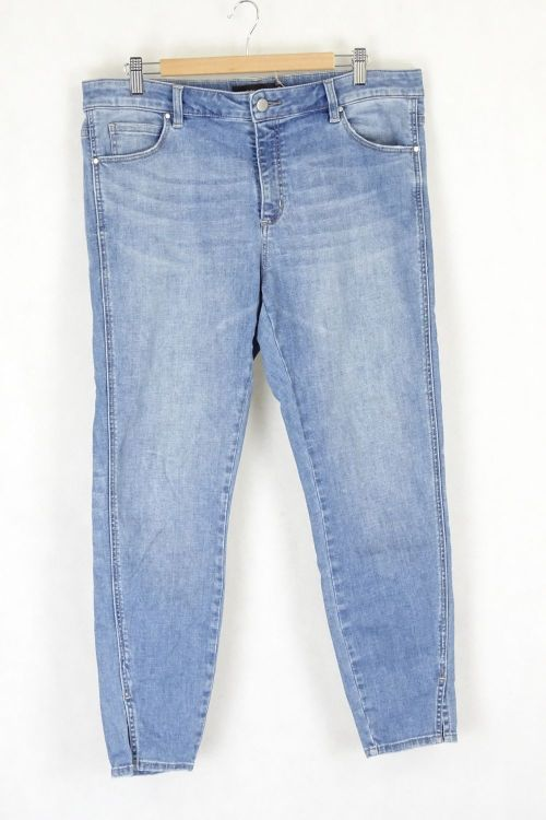 Witchery Slim Leg Denim Jeans 16