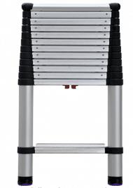 Escalera telescópica profesional con 16 pies de alcance, de conformidad con las normas Telesteps 1600EP OSHA