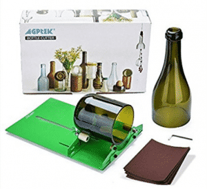 AGPtek Long Glass Bottle Cutter Machine Máquina de corte para botellas de vino