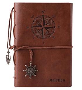 Cuaderno diario de cuero MALEDEN P-TND-HY48002-zong