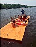 Maui Mat (Aqua Lily Products), cojín de espuma flotante diseñado para la relajación y la recreación en el agua (14 pies)