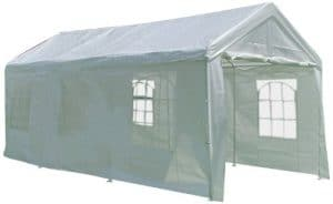 Palm Springs 10 x 20 Carpa de servicio pesado blanco