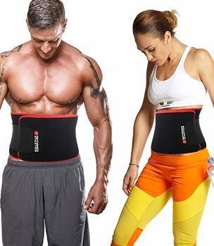 1. Entrenador de atletismo reformador con cinturón abdominal para una pérdida de peso más rápida