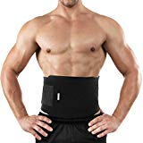 Bracoo Waist Trimmer Weight Loss Wrap, cinturón de sauna de sudor fino para hombres y mujeres: entrenador abdominal, quemador de grasa estomacal, mayor estabilidad básica, tasa metabólica, SE20