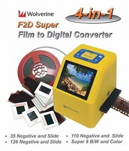 Jumbl Film to Digital Converter y Slide Scanner