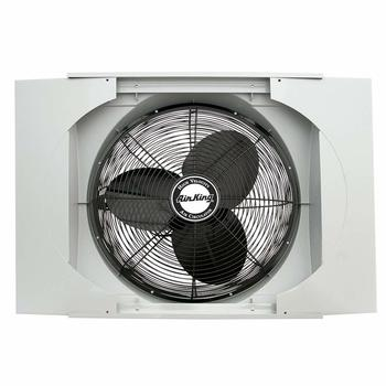 13. Ventilador de ventana Air King Whole House