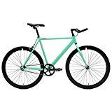 Ciclos críticos Bicicleta de velocidad fija y velocidad fija con barras de persecución Bullhorn