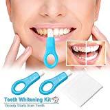 12pcs Pro Nano Whitening Kit de blanqueamiento dental Pinceles limpios (12pcs, Blanco)