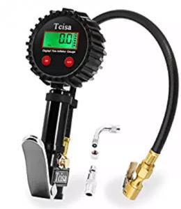 Manómetro digital de 200 PSI, manómetros digitales