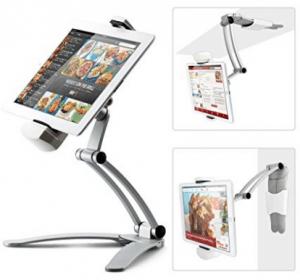 """Soporte de montaje en estante de cocina Soporte de mesa de cocina iKross 2-en-1 / Soporte de mesa de cocina para tableta de 7 """"a 13"""" para 2019"""