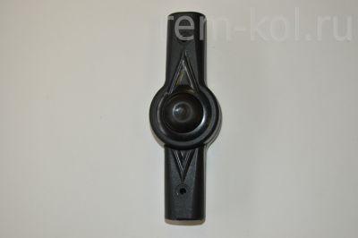 Регулятор ручки Euro-cart (Шарнир) Круг-Круг, чёрный