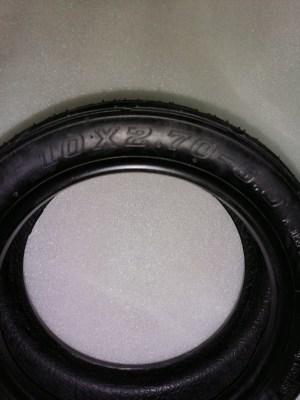 Покрышка для электросамоката Dualtron (10х2; 7-6.5)