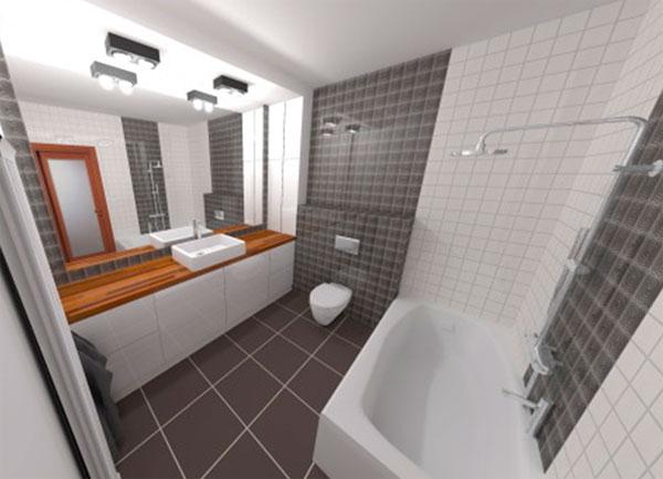 ванная 4 кв м дизайн фото 2