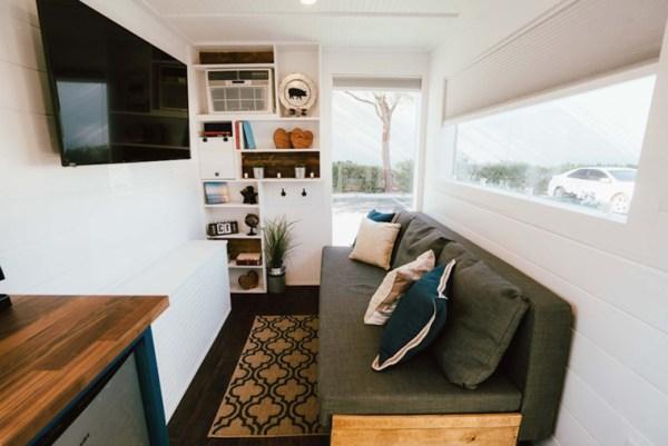 Жилой модульный дом из морских контейнеров, фото, проекты ...