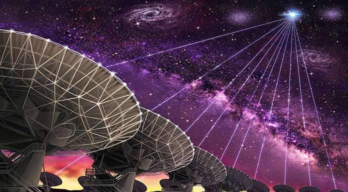 radiowaves space