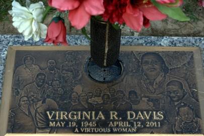 Virginia Davis Grave