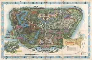 1962 Park Map